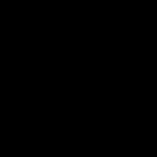 Symbool Circumflex sticker Stencil symbolen stickers