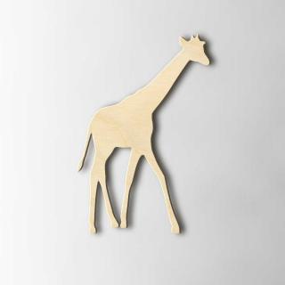 Houten Figuur Giraffe