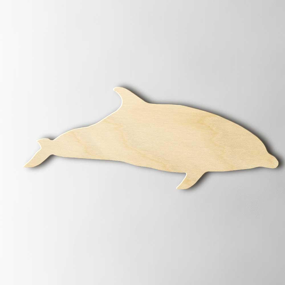Houten Figuur Dolfijn