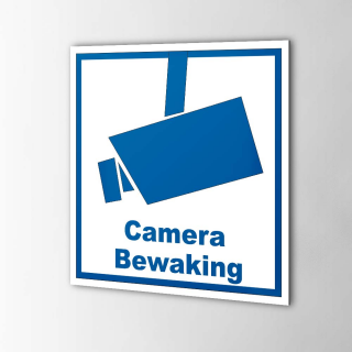 Camera Bewaking stickers