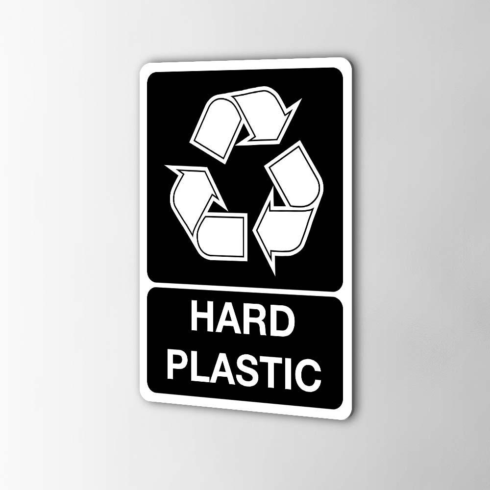 Gerecycled Hard Plastic Sticker Pictogrammen