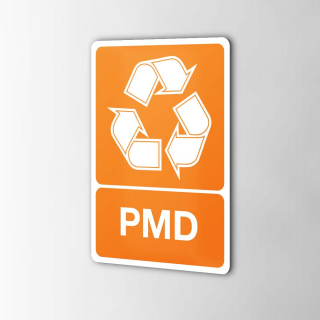 Gerecycled PMD Sticker...