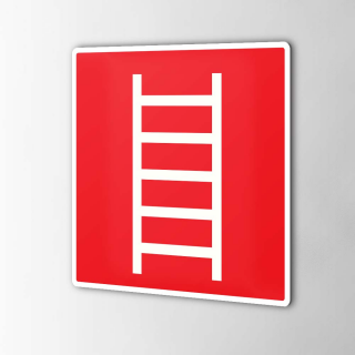 Ladder brandbeveiliging...