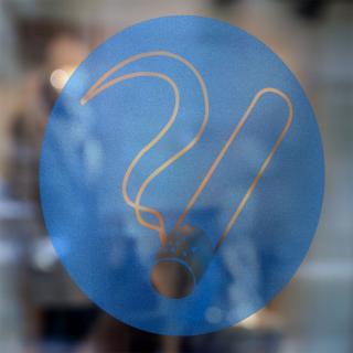 Gebodspictogram Rookzone sticker