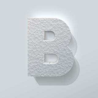 Piepschuim Letter B Big John