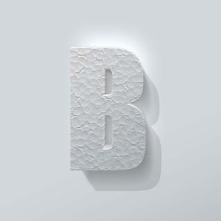 Piepschuim Letter B Impact
