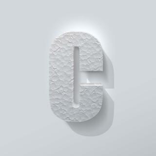Piepschuim Letter C Impact