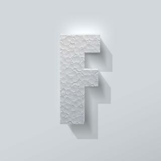 Piepschuim Letter F Impact