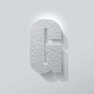 Piepschuim Letter G Impact