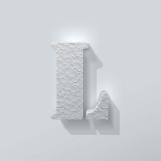 Piepschuim Letter L Stencil