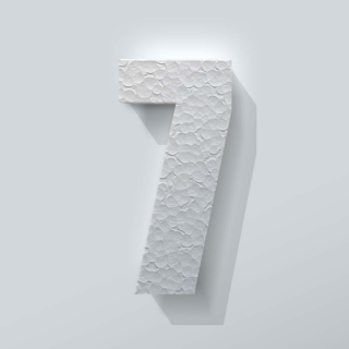 Piepschuim Cijfer 7 Impact