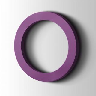 Kunststof Cijfer 0 Filisofia Acrylaat 4008 Signal Violet