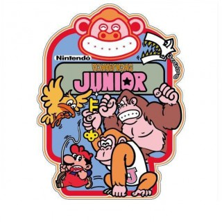 Donkey Kong Junior side art arcade stickers