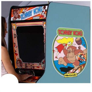 Donkey Kong side art arcade stickers