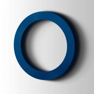Kunststof Cijfer 0 Filisofia Acrylaat 5002 Ultramarine Blue