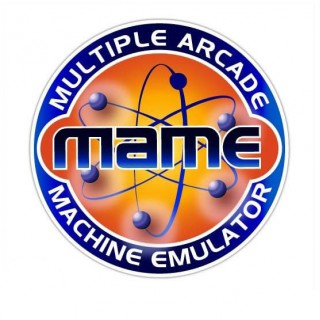 MAME Oranje side art arcade stickers