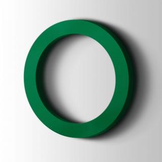 Kunststof Cijfer 0 Filisofia Acrylaat 6029 Mint Green