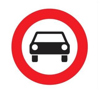 Gesloten voor motorvoertuigen op meer dan 2 wielen