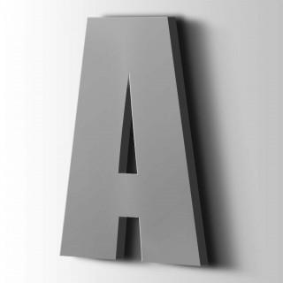 Kunststof Letter A Impact Acrylaat 7040 Window Grey