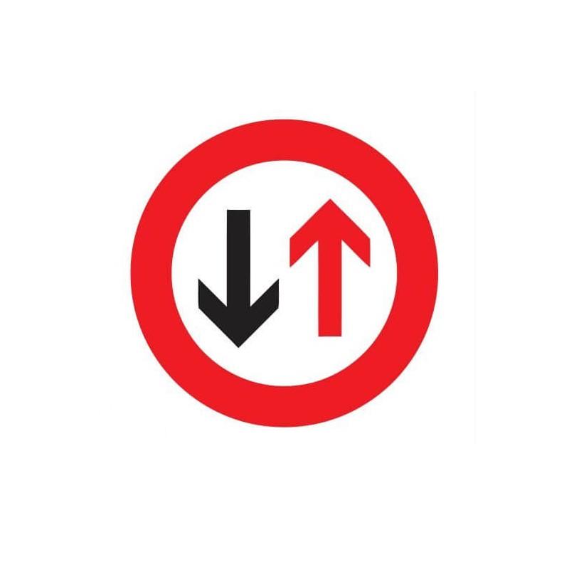 Verbod voor bestuurders sticker