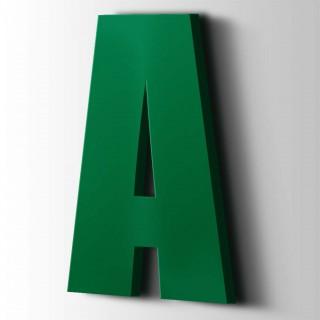 Kunststof Letter A Impact Acrylaat 6029 Mint Green