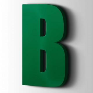 Kunststof Letter B Impact Acrylaat 6029 Mint Green