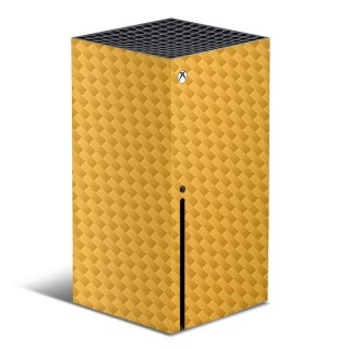Xbox Series X Console Carbon Skin Oranje