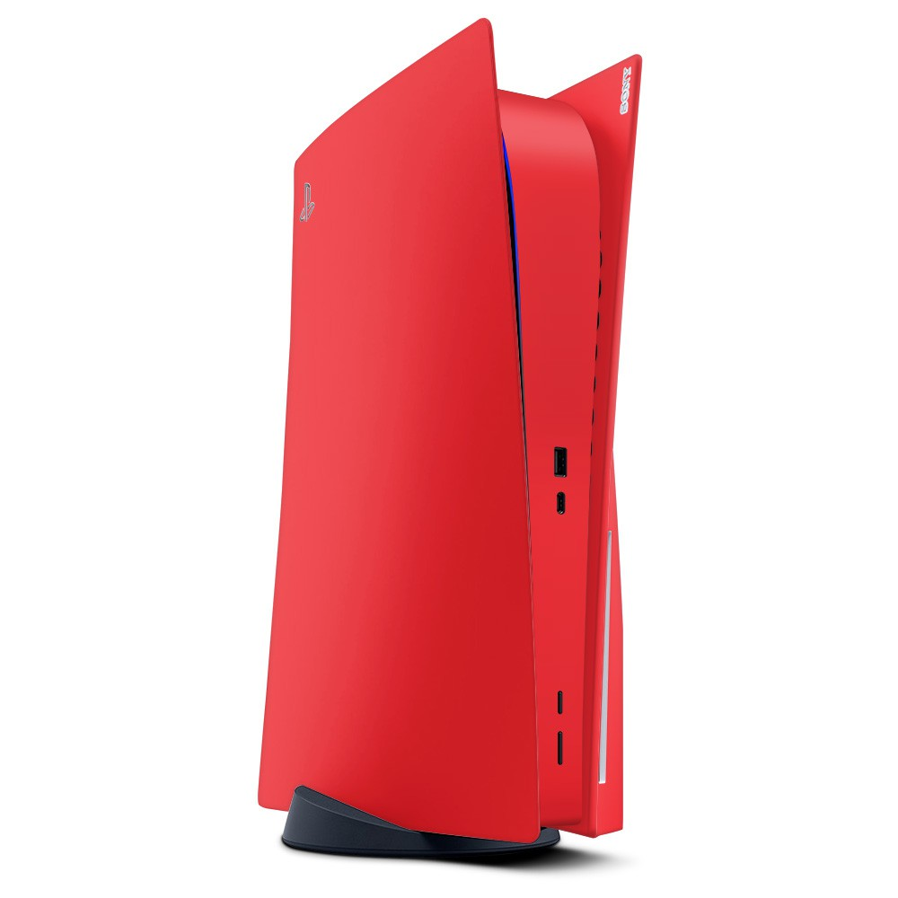 PlayStation 5 Console Skin Rood