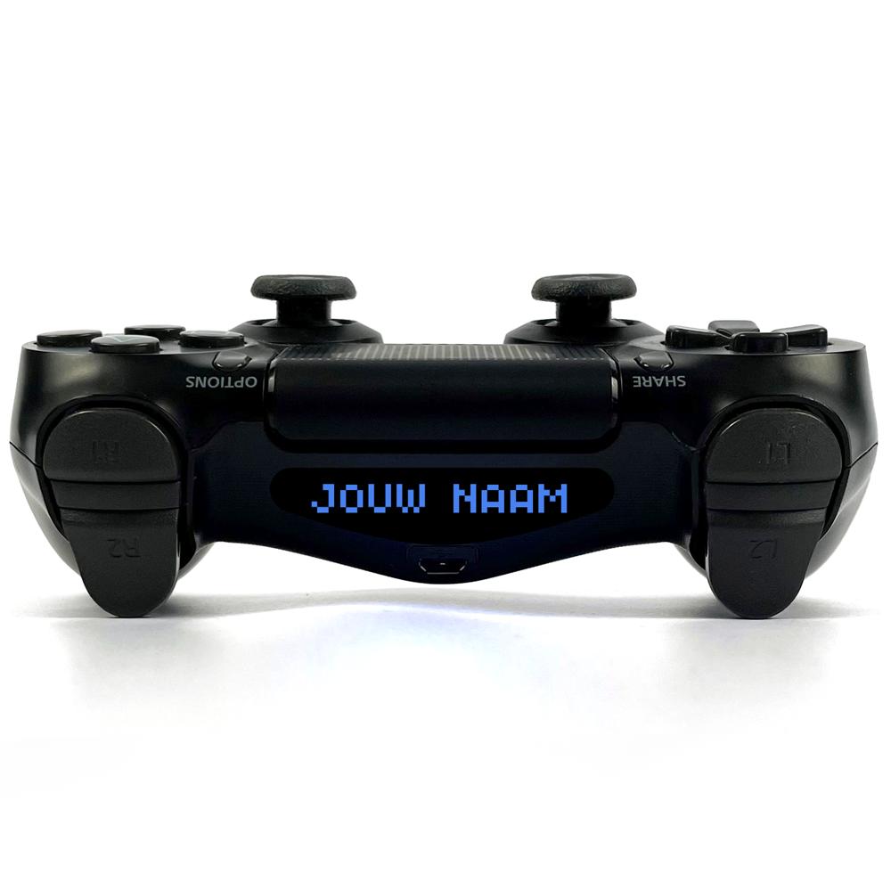 Jouw eigen (clan)naam! Pixel Playstation 4 Controller Light Bar