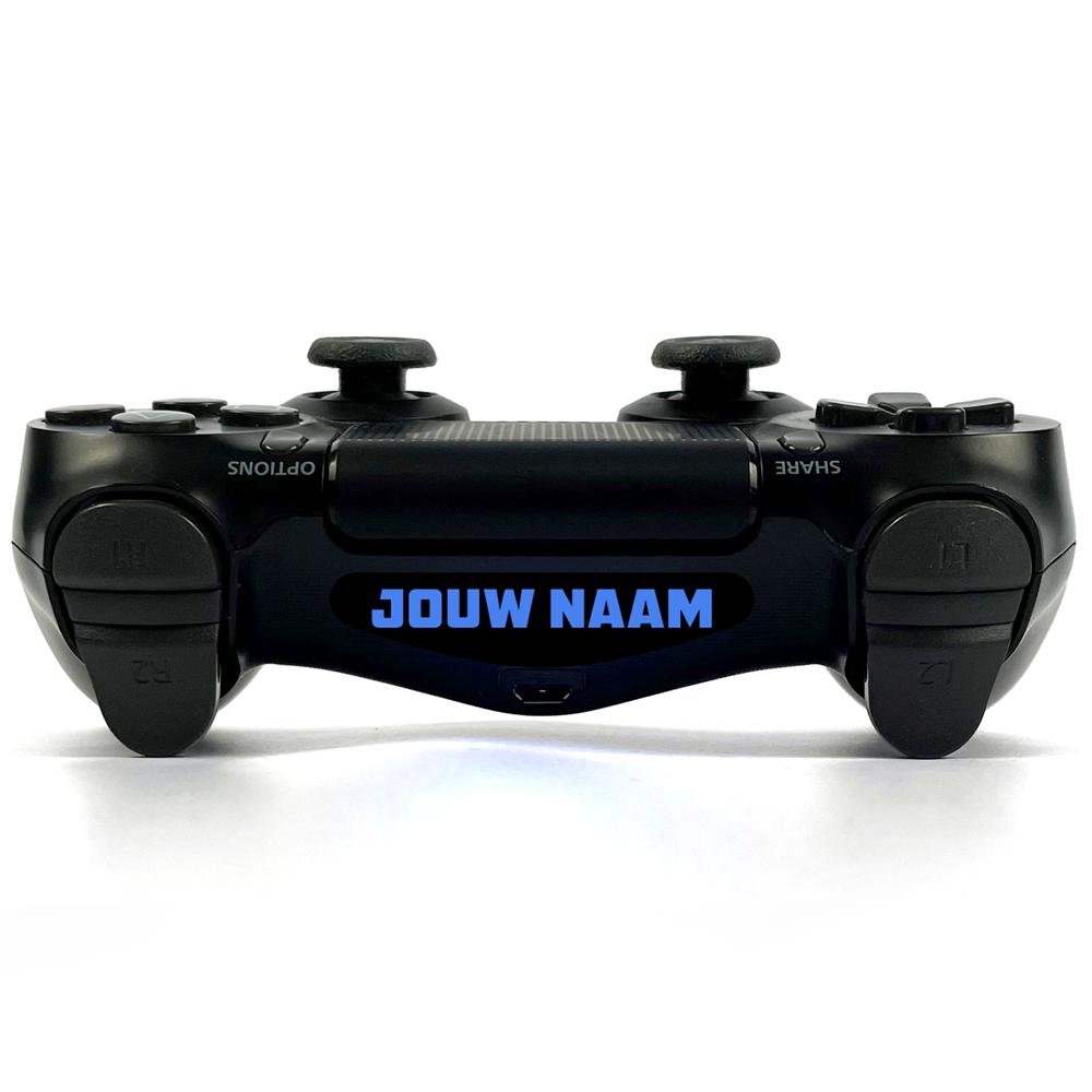 Jouw eigen (clan)naam! Bold Playstation 4 Controller Light Bar