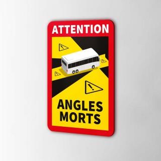Attention Angles Morts Sticker Personenvervoer