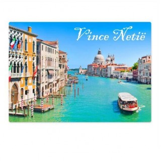 Eigen naam Venetië koffer stickers