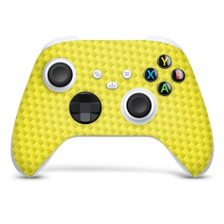 Xbox Series S Controller Skin Carbon Geel