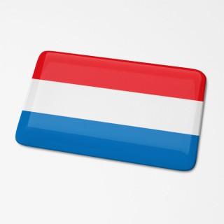 3D Sticker Nederlandse Vlag