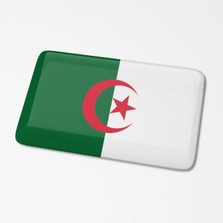 3D Vlagsticker Algeria