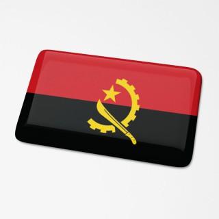 3D Vlagsticker Angola