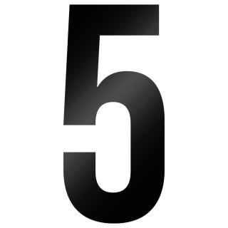 Cijfer Sticker Bebas Neue 5