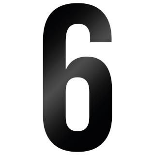 Cijfer Sticker Bebas Neue 6