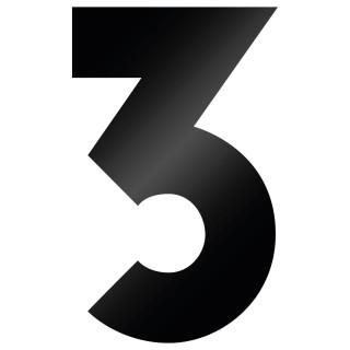 Cijfer Sticker Big John 3