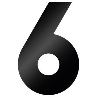 Cijfer Sticker Big John 6