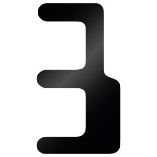 Cijfer Sticker Checkbook 3
