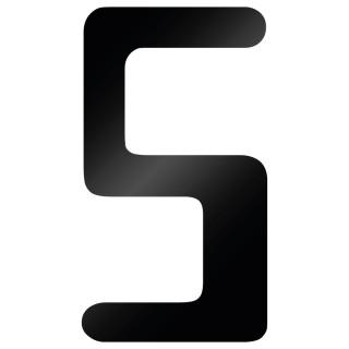 Cijfer Sticker Checkbook 5