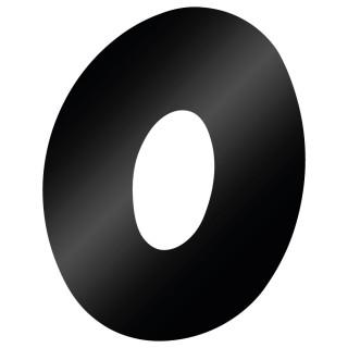 Cijfer Sticker Grobold 0