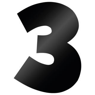 Cijfer Sticker Grobold 3