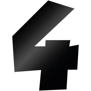 Cijfer Sticker Grobold 4