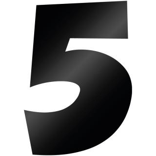 Cijfer Sticker Grobold 5