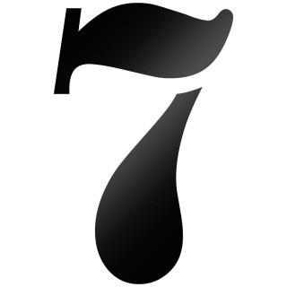 Cijfer Sticker Stencil 7