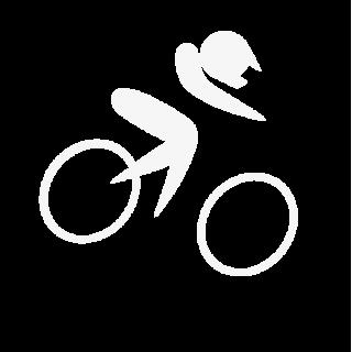 BMX Racer fietssticker