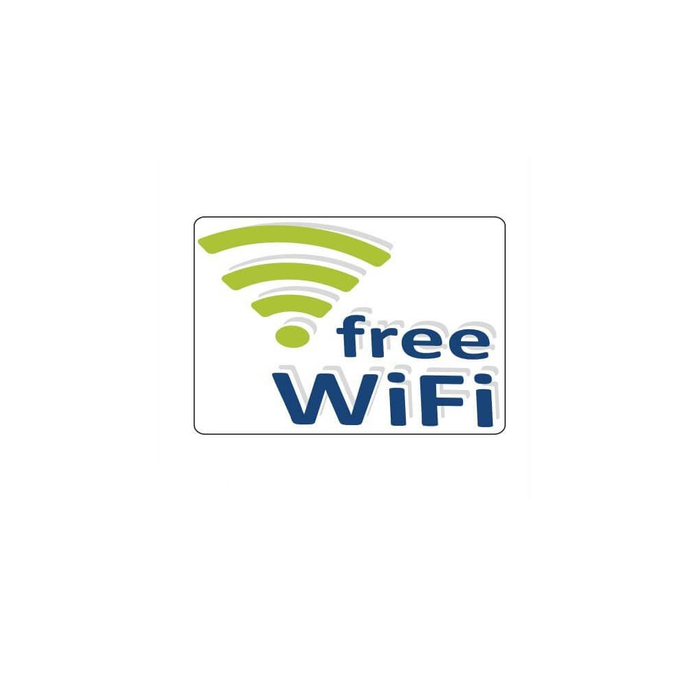 Moderne Wifi sticker