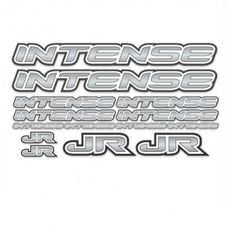 BMX Intense Sticker Set Grijs